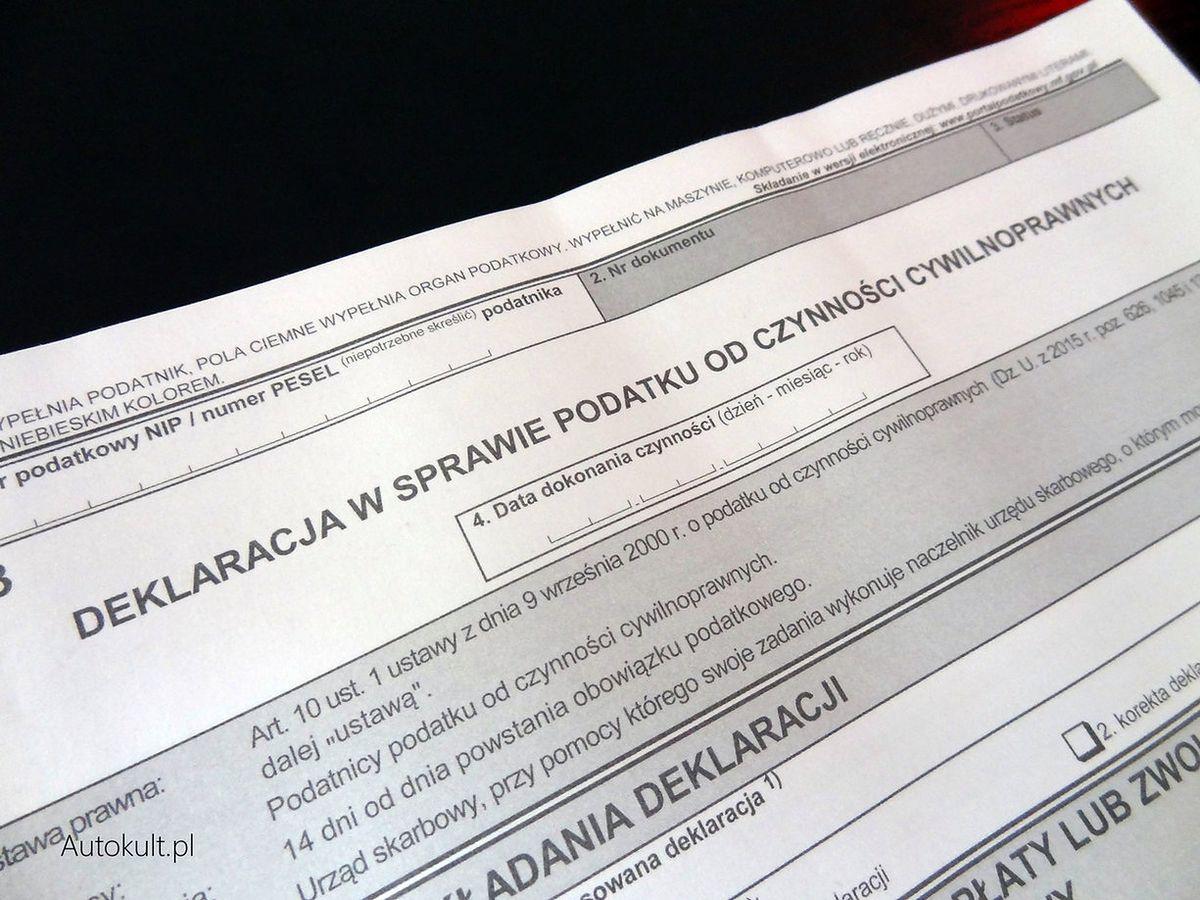 Zakup Auta Na Fakture Co Z Podatkiem I Deklaracja Pcc Autokult Pl