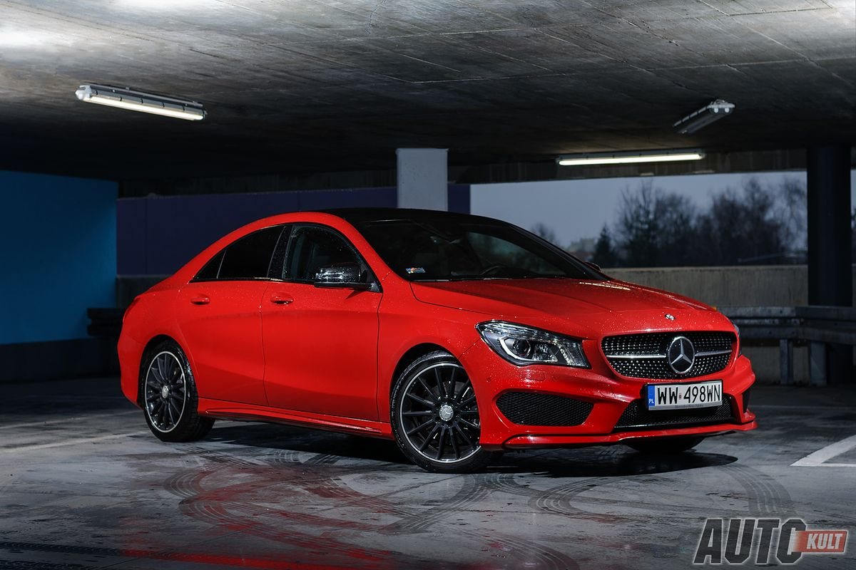 Mercedes benz cla 250 4matic z pakietem amg test for Benz sport katalog