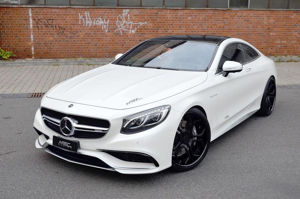 Mercedes benz s63 amg coup od mec design z dodatkiem for Benz sport katalog