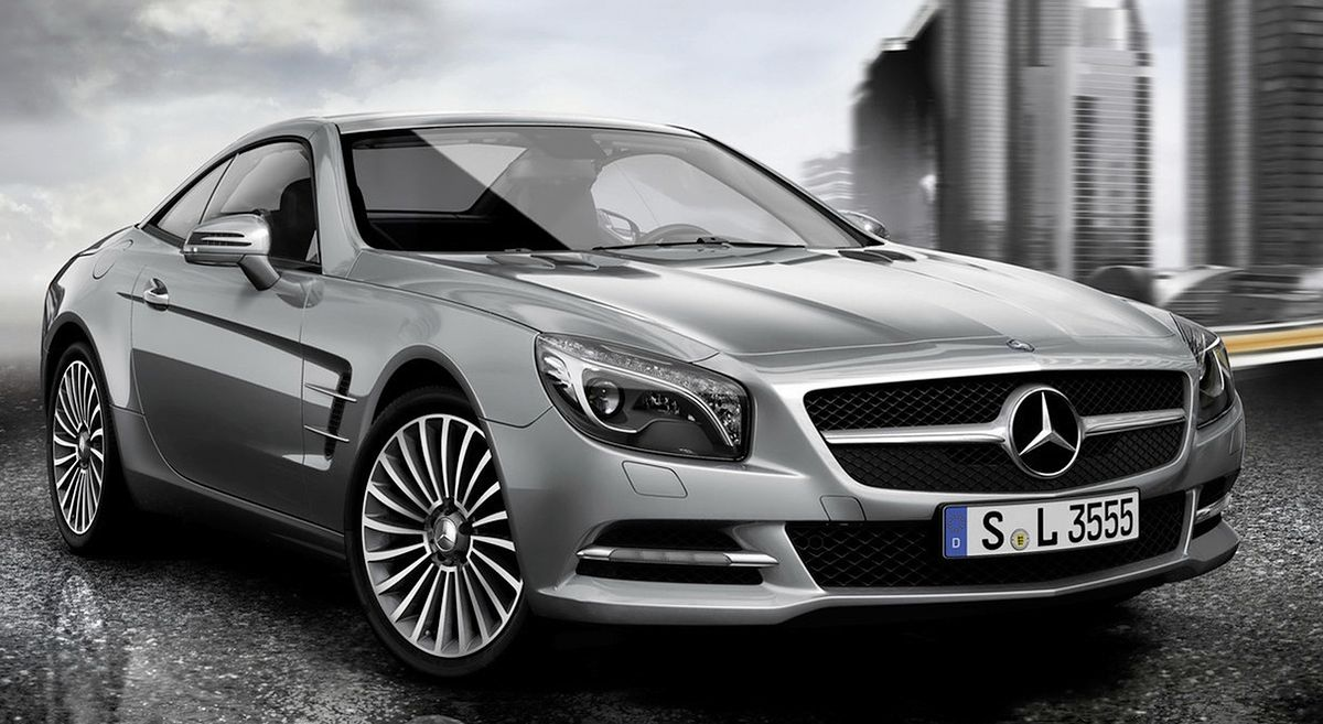 Akcesoria mercedesa do modelu sl 2013 for Benz sport katalog