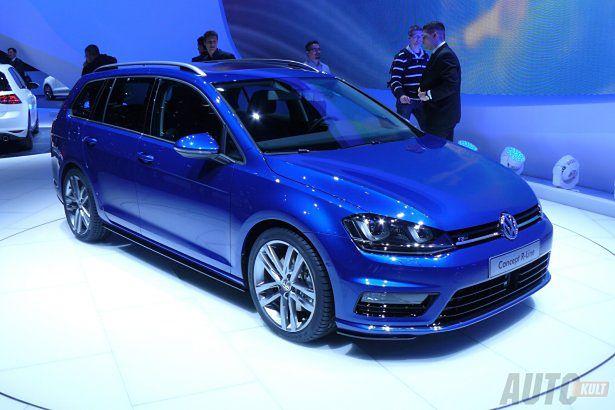 Volkswagen golf variant r line genewa 2013 for R line exterieur golf variant