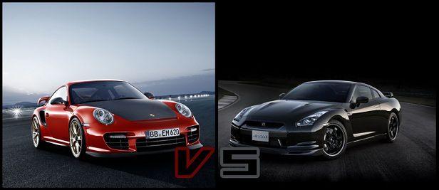 porsche 911 gt2 rs vs nissan gt r r35 co wybierasz. Black Bedroom Furniture Sets. Home Design Ideas