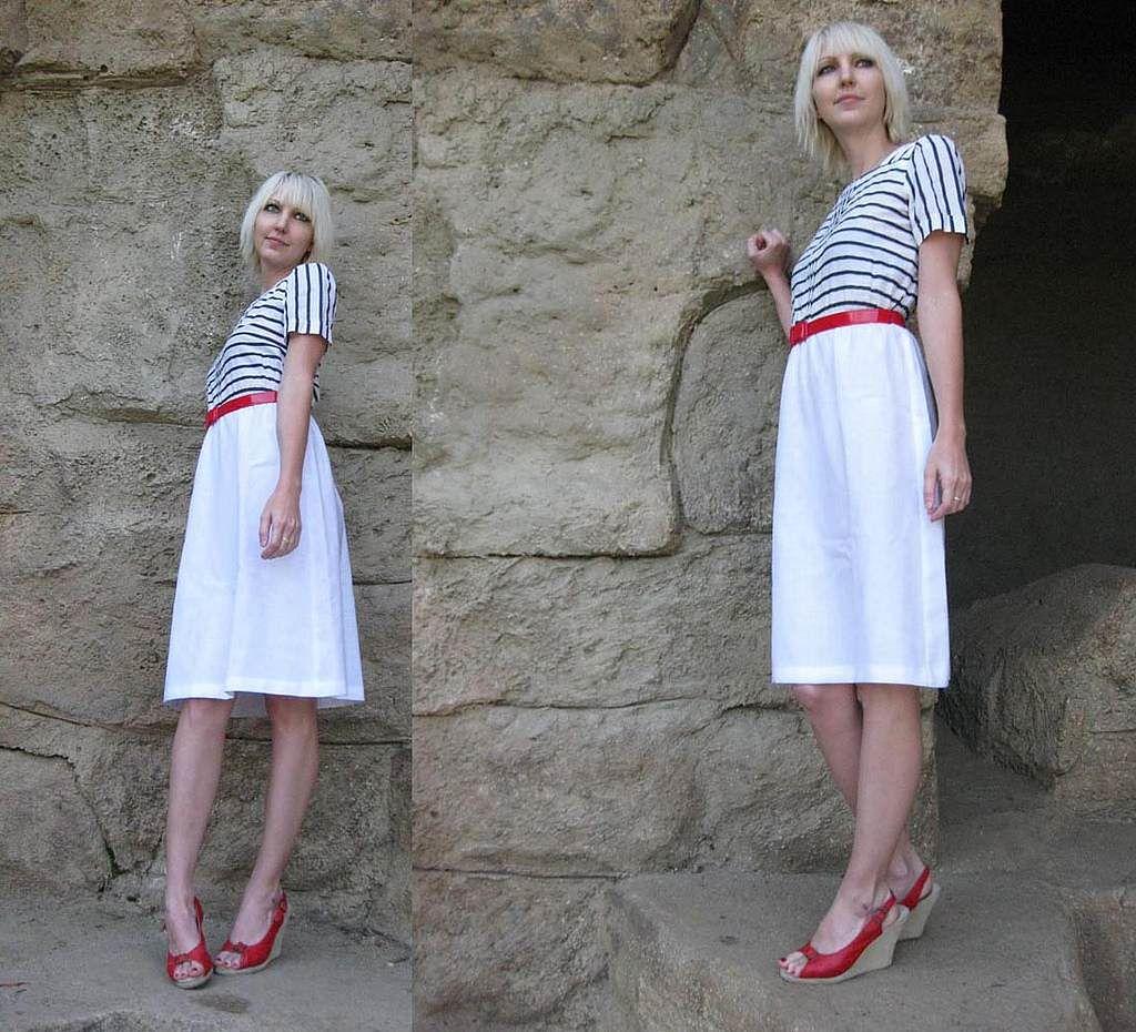 04b45e7bd4 sukienki marynarskie