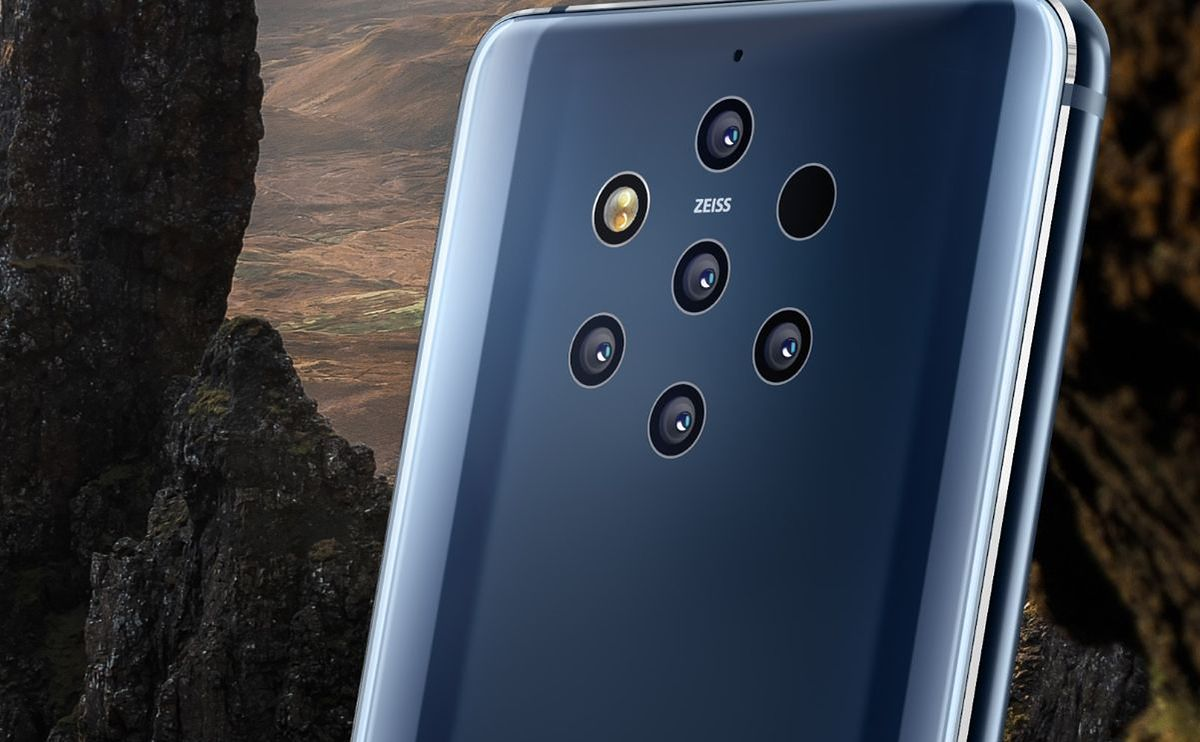 Nokia 9 PureView official  The first smartphone with five