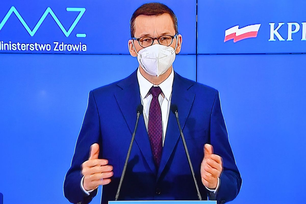 Konferencja premiera. Jest decyzja w sprawie obostrzeń