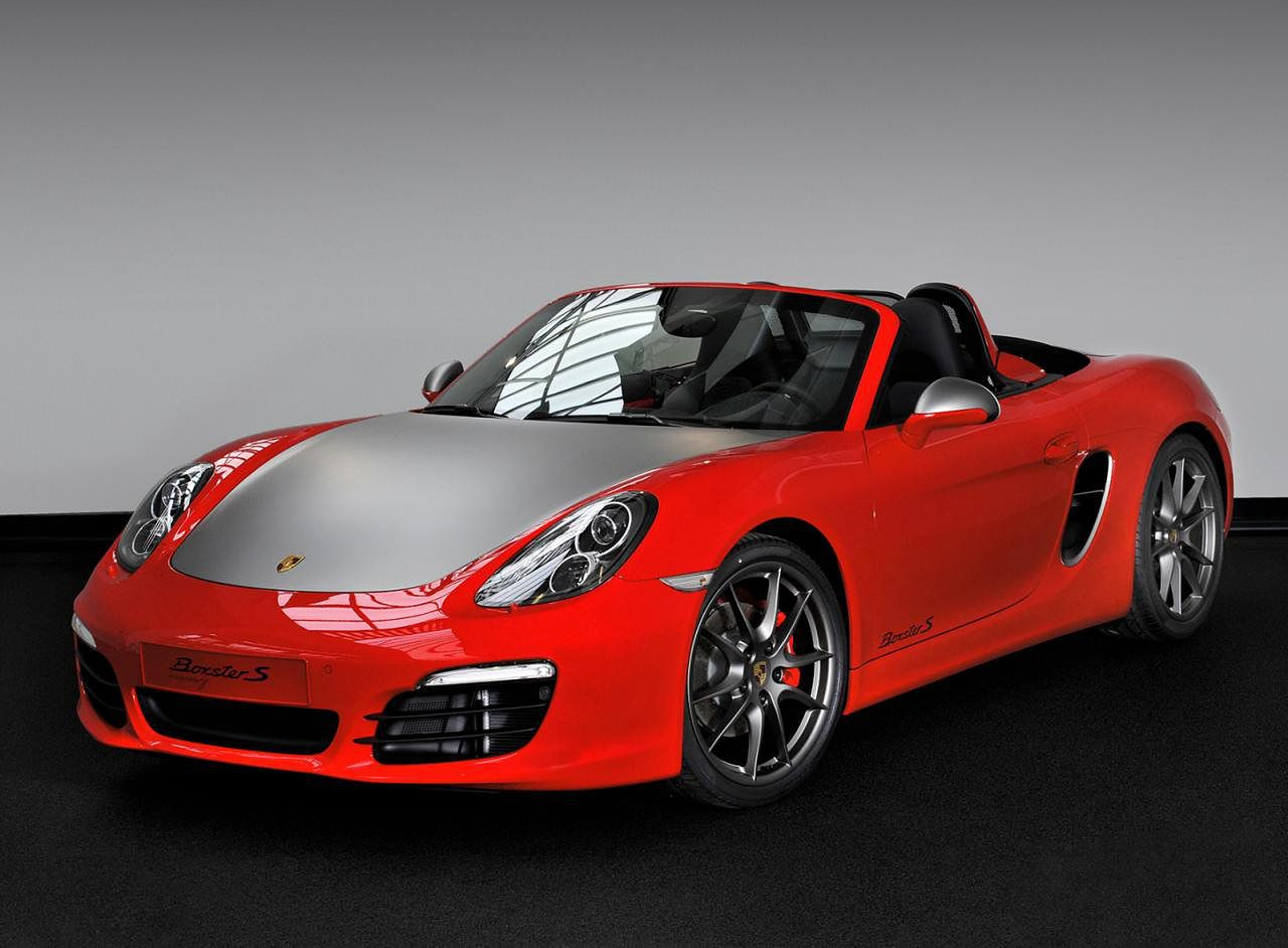 Porsche Boxster S RED 7 Edition – wersja specjalna dla