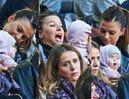 Lewandowska zabrała małą Klarę na mecz Bayernu! (ZDJĘCIA)
