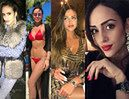 Drogie stroje, egzotyczne podróże i selfie w windzie - tak wygląda życie rosyjskiej żony Macieja Rybusa (ZDJĘCIA)