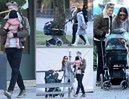 TYLKO U NAS: Siwy Lewandowski zabrał Anię i Klarę na jarmark świąteczny w Monachium (DUŻO ZDJĘĆ)