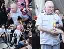 """Wałęsa odwiedził protestujących w Sejmie. """"Wezwaliście mnie, więc jestem!"""""""