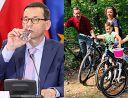 Mateusz Morawiecki pokazał zdjęcie z rodzinnej wycieczki rowerowej (FOTO)