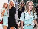 Dumna Kate Moss zabrała 16-letnią córkę-modelkę na pokaz mody (FOTO)