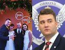 """Bartłomiej Misiewicz JEST JUŻ PO ŚLUBIE? Pokazał zdjęcie z wybranką i podpisał je: """"Państwo Misiewicz"""""""