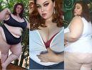 """Poznajcie """"Mamahorker"""", modelkę plus size, której internauci płacą, żeby zobaczyć, jak je (ZDJĘCIA)"""