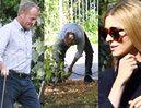 Przykładny Donald Tusk sprząta kupę psa na spacerze z Kasią (ZDJĘCIA)