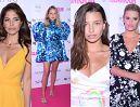 """Tłum celebrytek na gali """"Kobieta Roku Glamour"""": Wyniosła Weronika Rosati, """"tęczowa"""" Julia Wieniawa, bufiasta Jessica Mercedes.... (ZDJĘCIA)"""