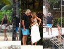 69-letni Flavio Briatore na egzotycznych wakacjach z 20-letnią partnerką (ZDJĘCIA)