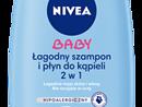Łagodny szampon i płyn do kąpieli 2w1 NIVEA Baby (500 ml)