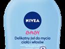 Delikatny żel do mycia ciała i włosów NIVEA Baby (250 ml)