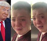 """Bieber, Perry, Lovato i... Donald Trump stają w obronie prześladowanego chłopca: """"Bądź silny, nie jesteś sam!"""""""
