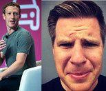 """Facebook zablokował konto Filipa Chajzera! """"Człowieku, który to zrobiłeś - jesteś idiotą!"""""""