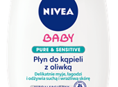 Płyn do kąpieli z oliwką NIVEA Baby PURE & SENSITIVE (200  ml)