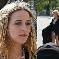"""Jessica Mercedes pokazała bieliznę paparazzi. """"Jeszcze jaką gafa?"""""""