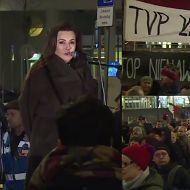 """Tadla protestuje pod TVP! """"Winny jest każdy, kto powie słowo, które rani"""""""