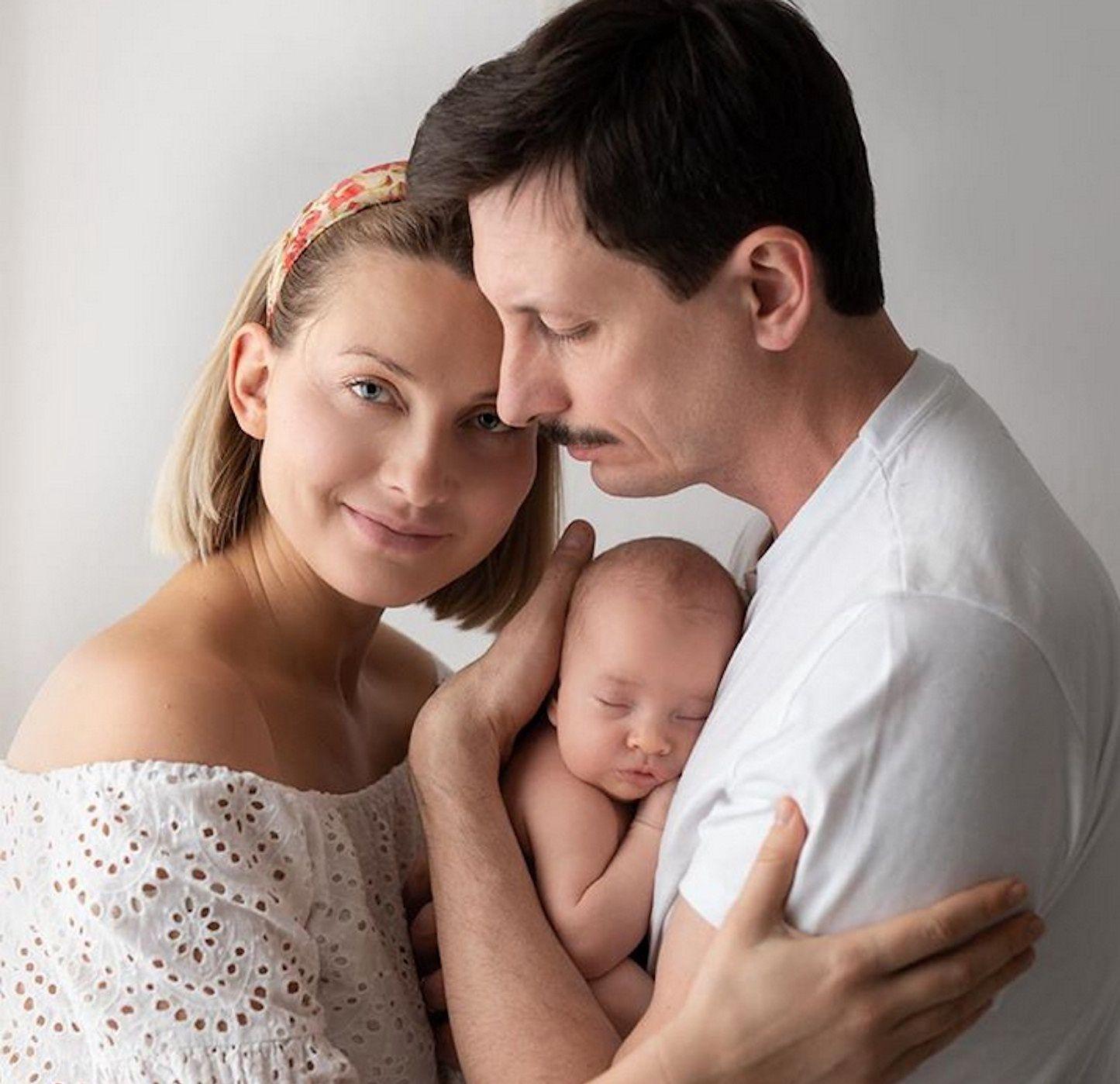 Joanna Moro z mężem i córeczką na Instagramie Photo: Eliana Photography