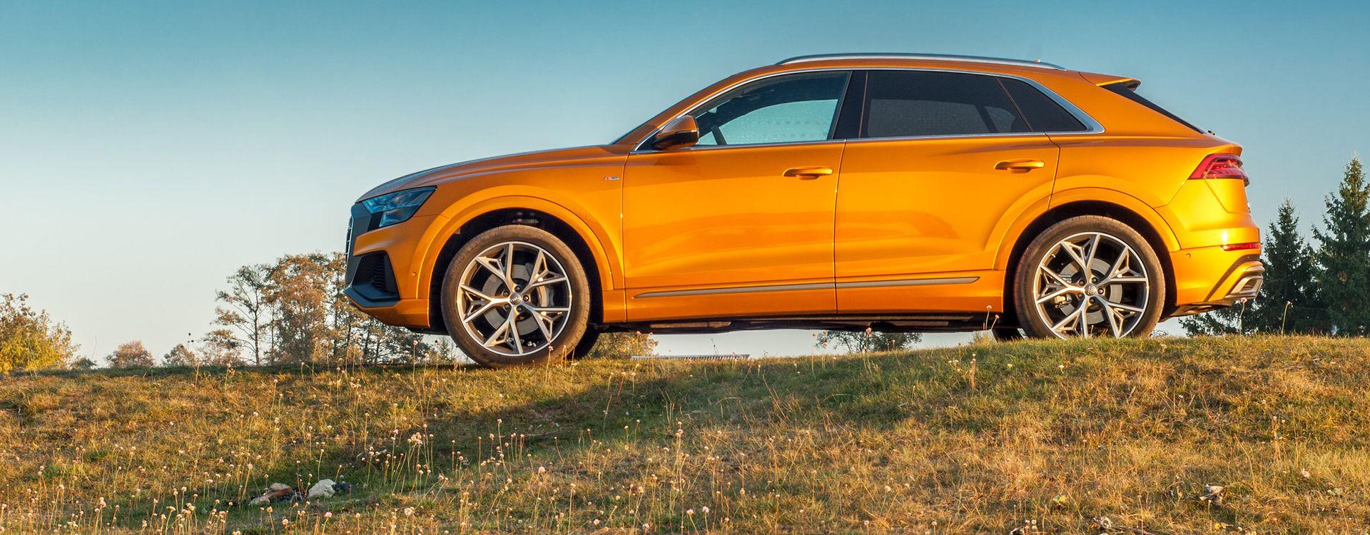Audi Q8 Test Opinia Ceny Zdjęcia Dane Techniczne Autokultpl