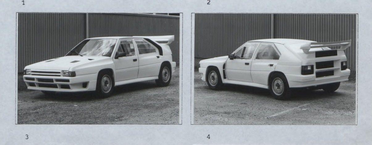 Citroën BX 4TC był bardzo charakterystycznym (i rzadkim) widokiem na odcinkach specjalnych.