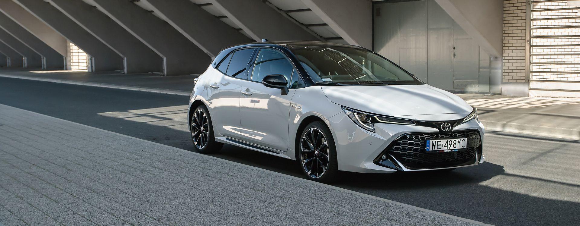 Pakiet stylizacyjny sprawia, że Corolla wygląda jeszcze lepiej.