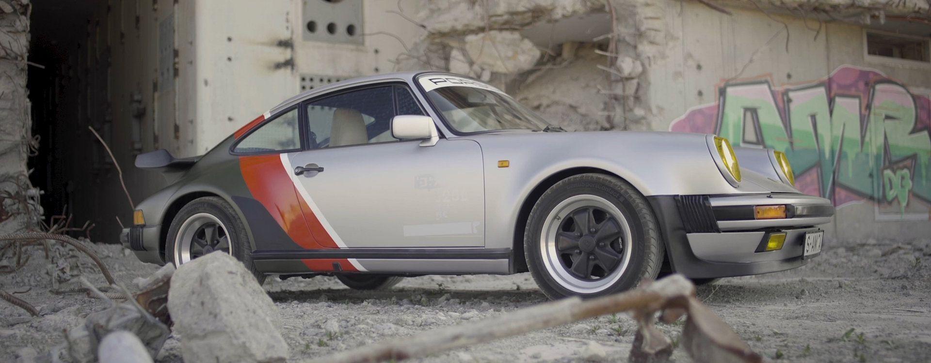 Porsche 911 Turbo z gry Cyberpunk 2077