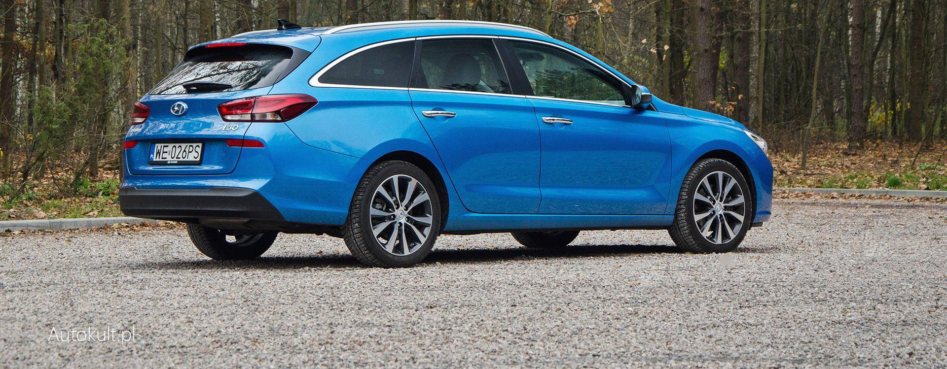 Hyundai i30 Wagon z silnikiem Diesla okazał się zupełnie innym autem niż jego odpowiednik z nadwoziem hatchback i motorem benzynowym