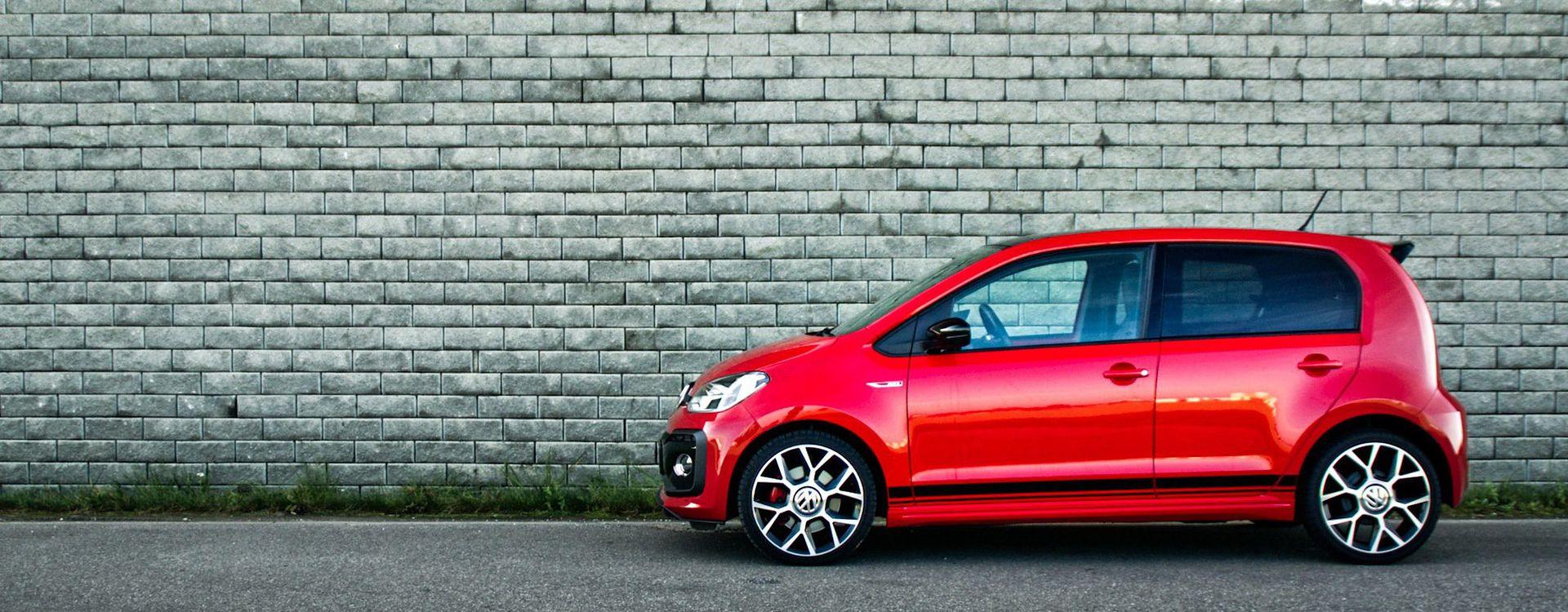 Ustalmy jedno: Volkswagen up! GTI wygląda naprawdę dobrze