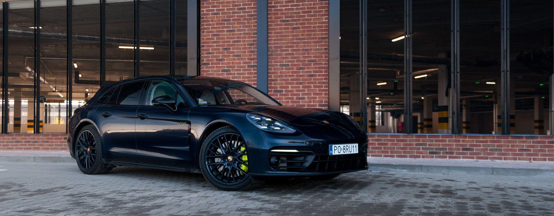 Porsche Panamera 4S E-Hybrid Sport Turismo (2020)