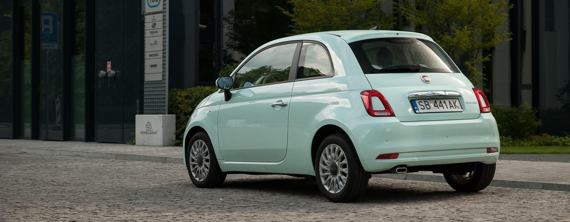 Hybrydowy Fiat 500 otrzymał garść usprawnień i dobrze radzący sobie w mieście, litrowy silnik