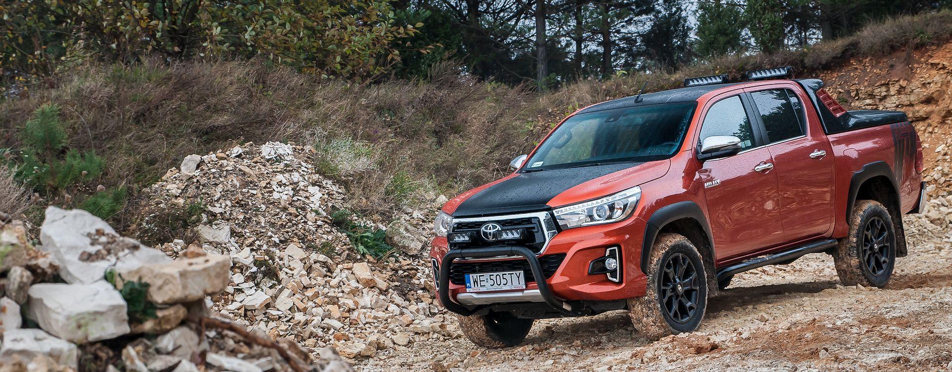 Toyota Hilux na swoje 50. urodziny doczekała się edycji limitowej. Na każdym rynku jest ona inna