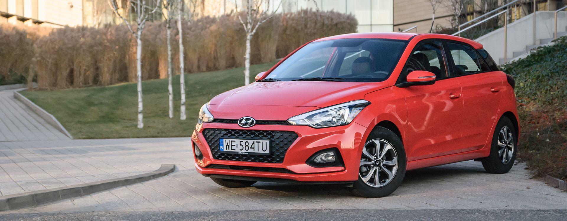Bardzo dobra Hyundai i20 1.2 w wersji Launch - test, spalanie, dane techniczne WI58