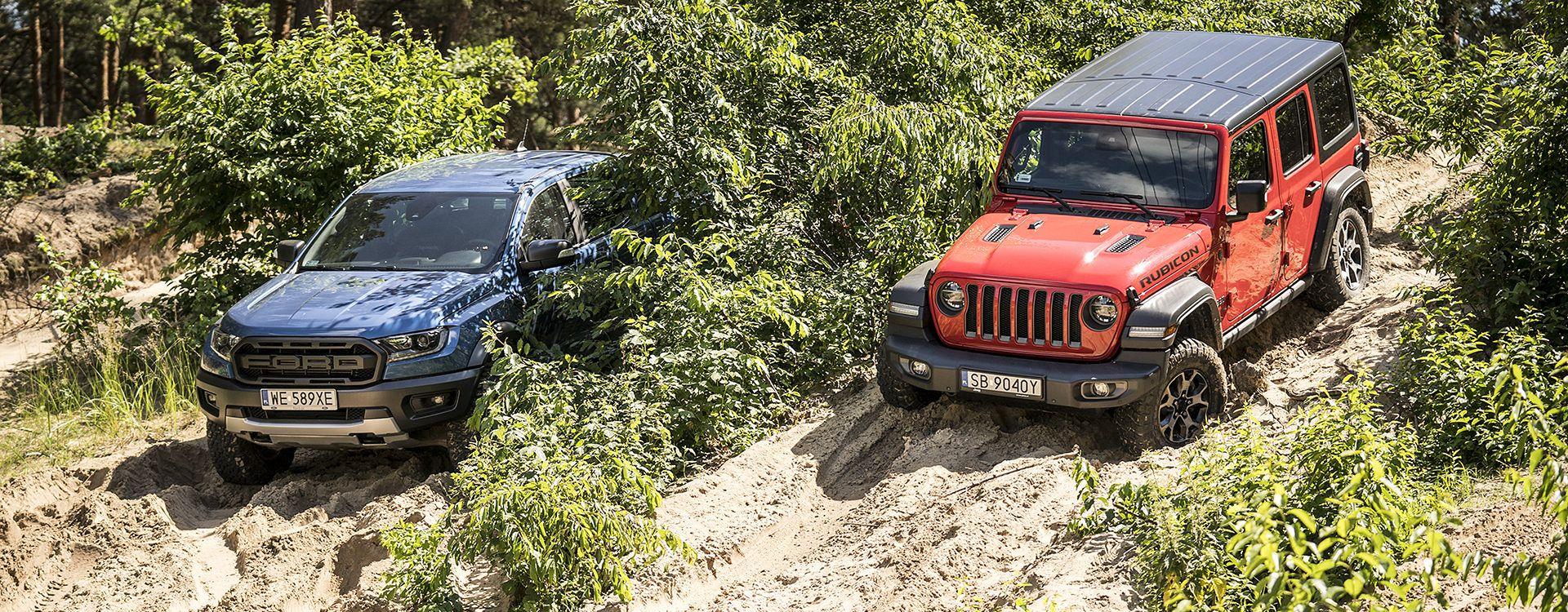 Ford Ranger Raptor vs. Jeep Wrangler Rubicon