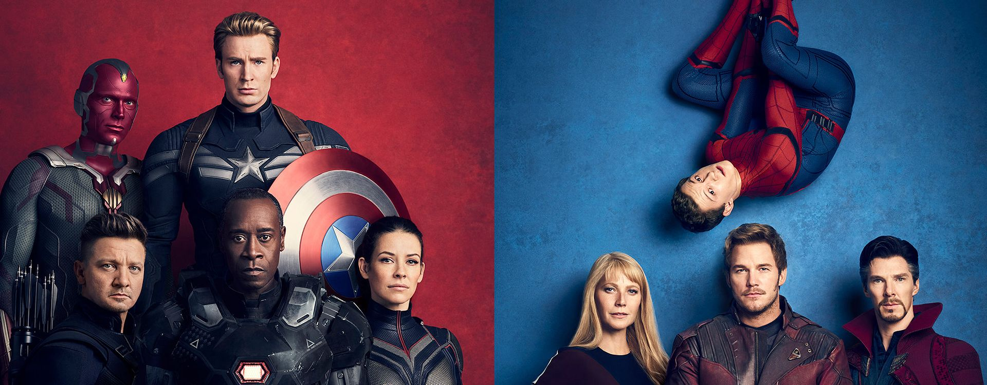 Superbohaterowie Marvela, fot. Jason Bell; styled by Jessica Diehl, postprod. House of Retouching