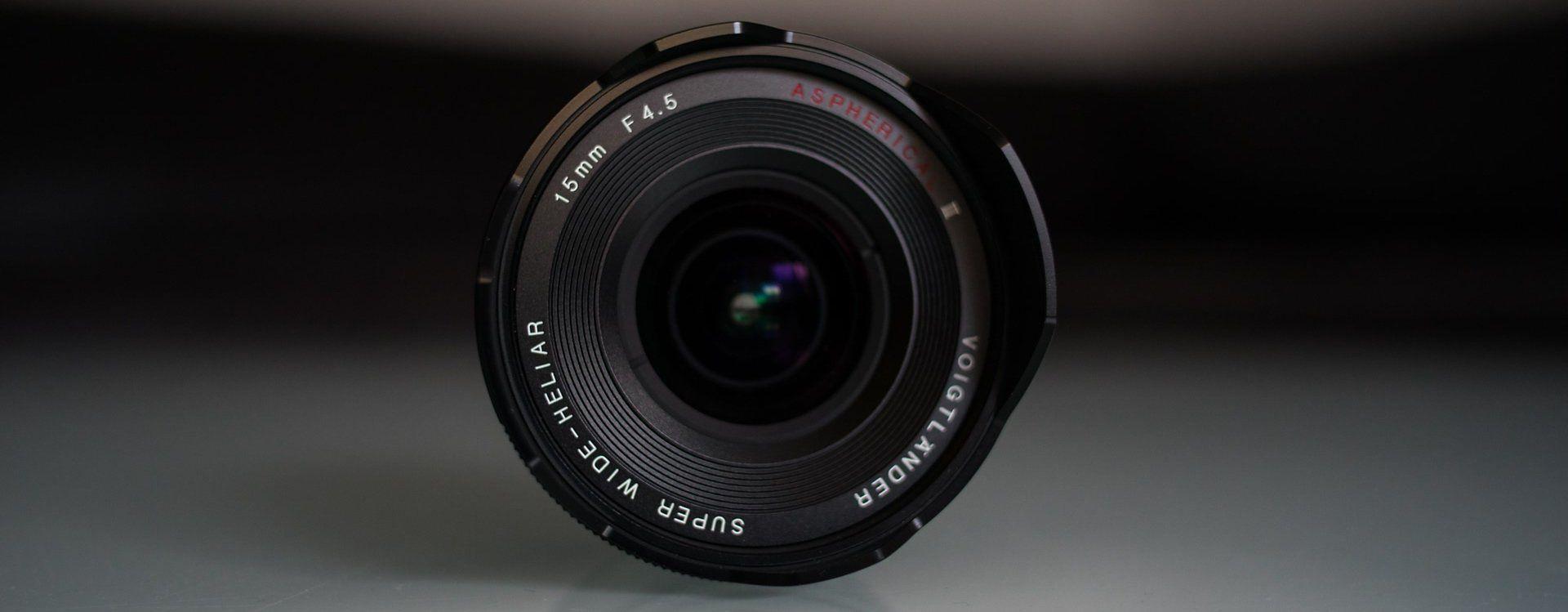 Voigtländer Super Wide Heliar 15 mm f/4.5 Aspherical III