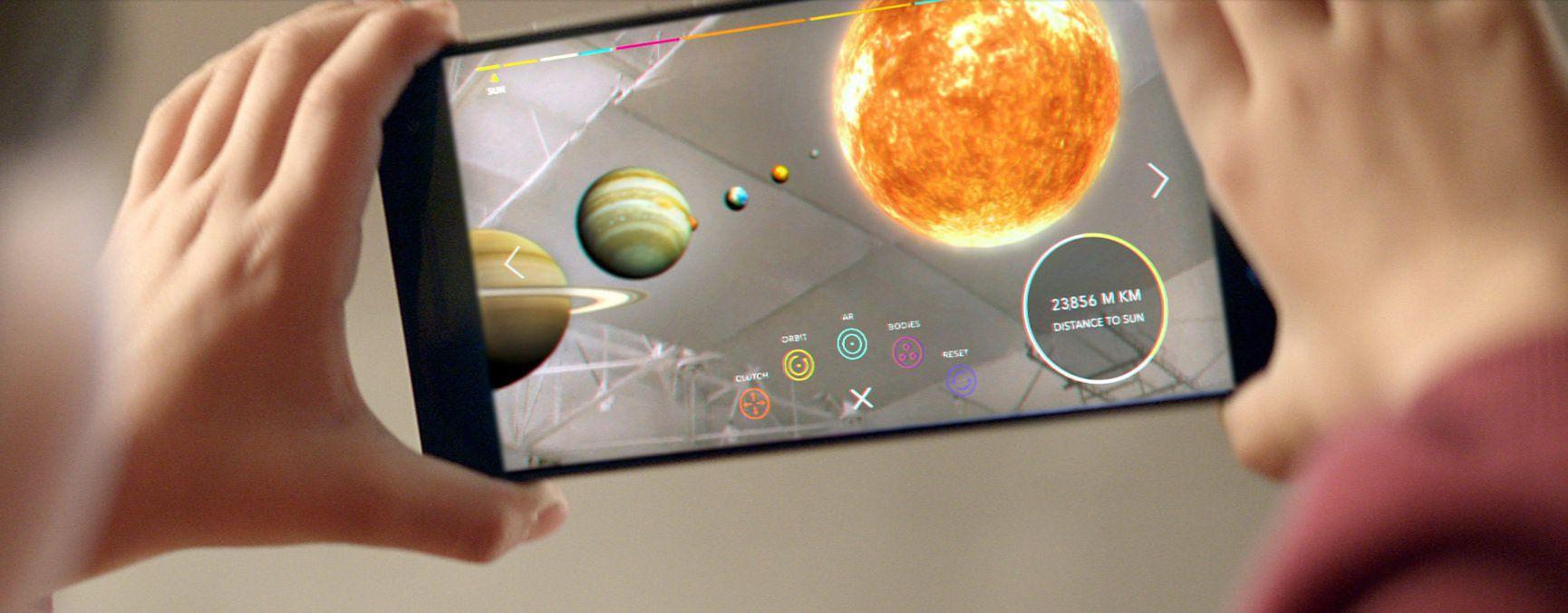Efekty AR w smartfonie z Google Tango
