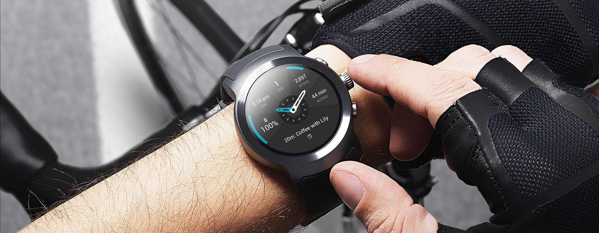 LG Watch Sport z Android Wear 2.0
