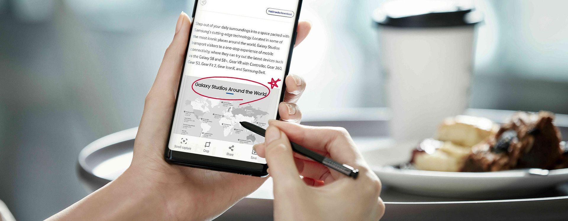 Galaxy Note 8 już za kilka miesięcy doczeka się następcy