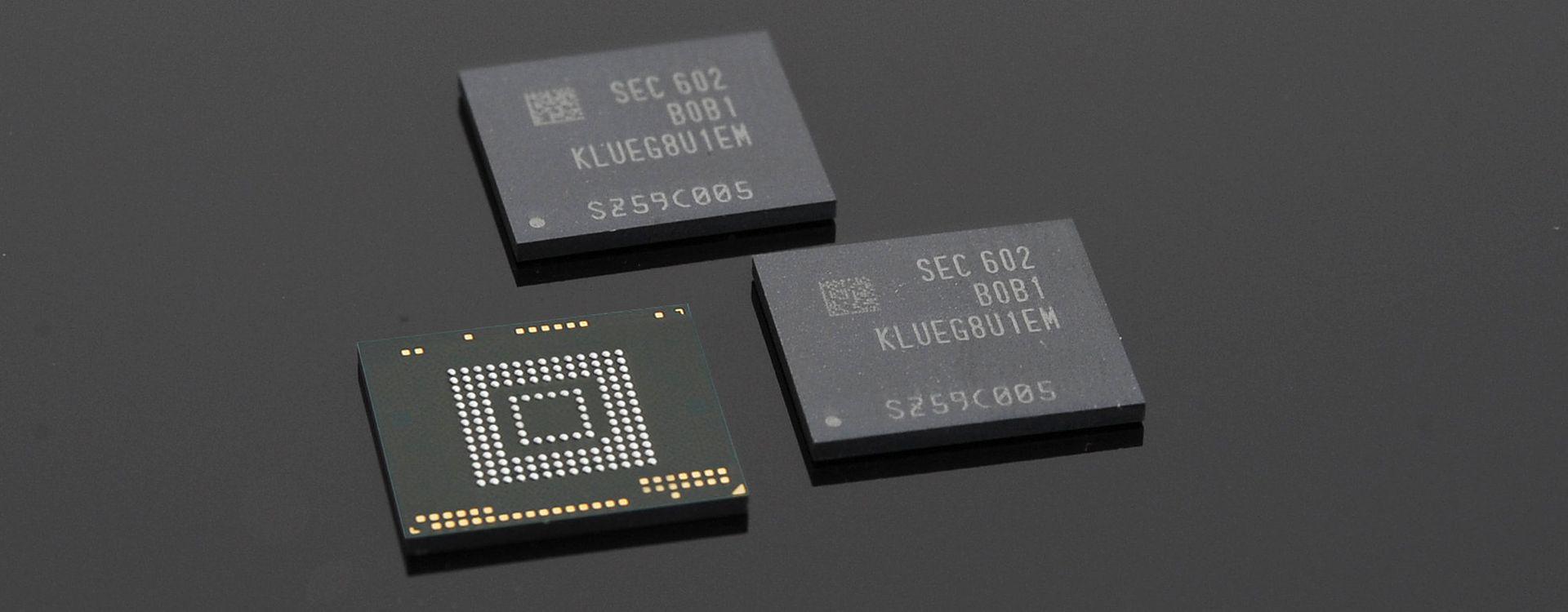 Kości pamięci UFS 2.0 Samsunga
