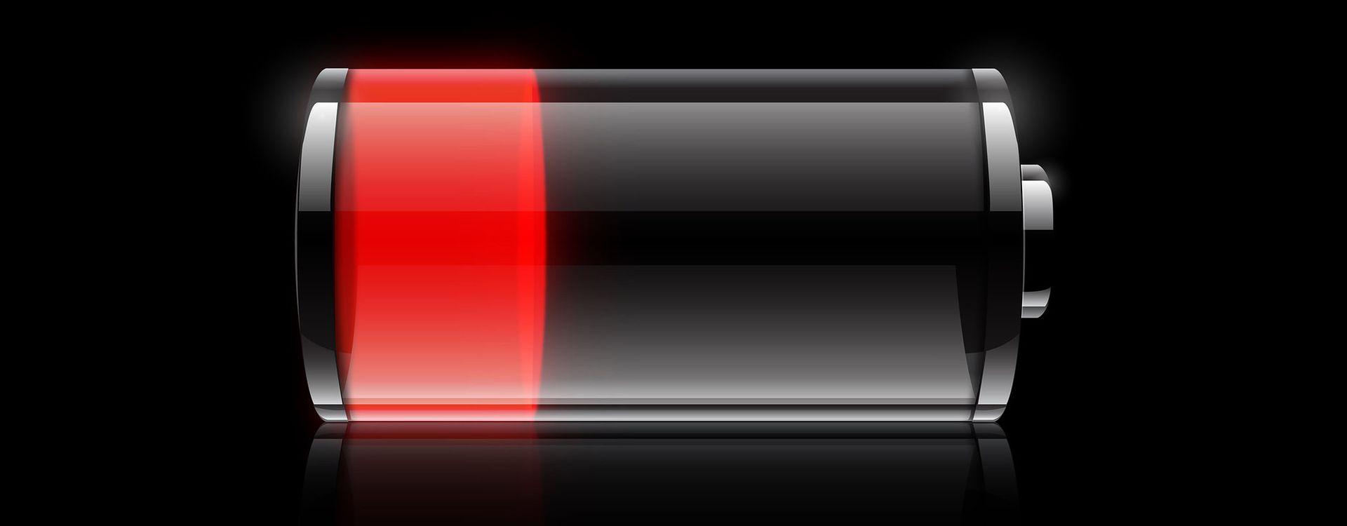 Słaba bateria