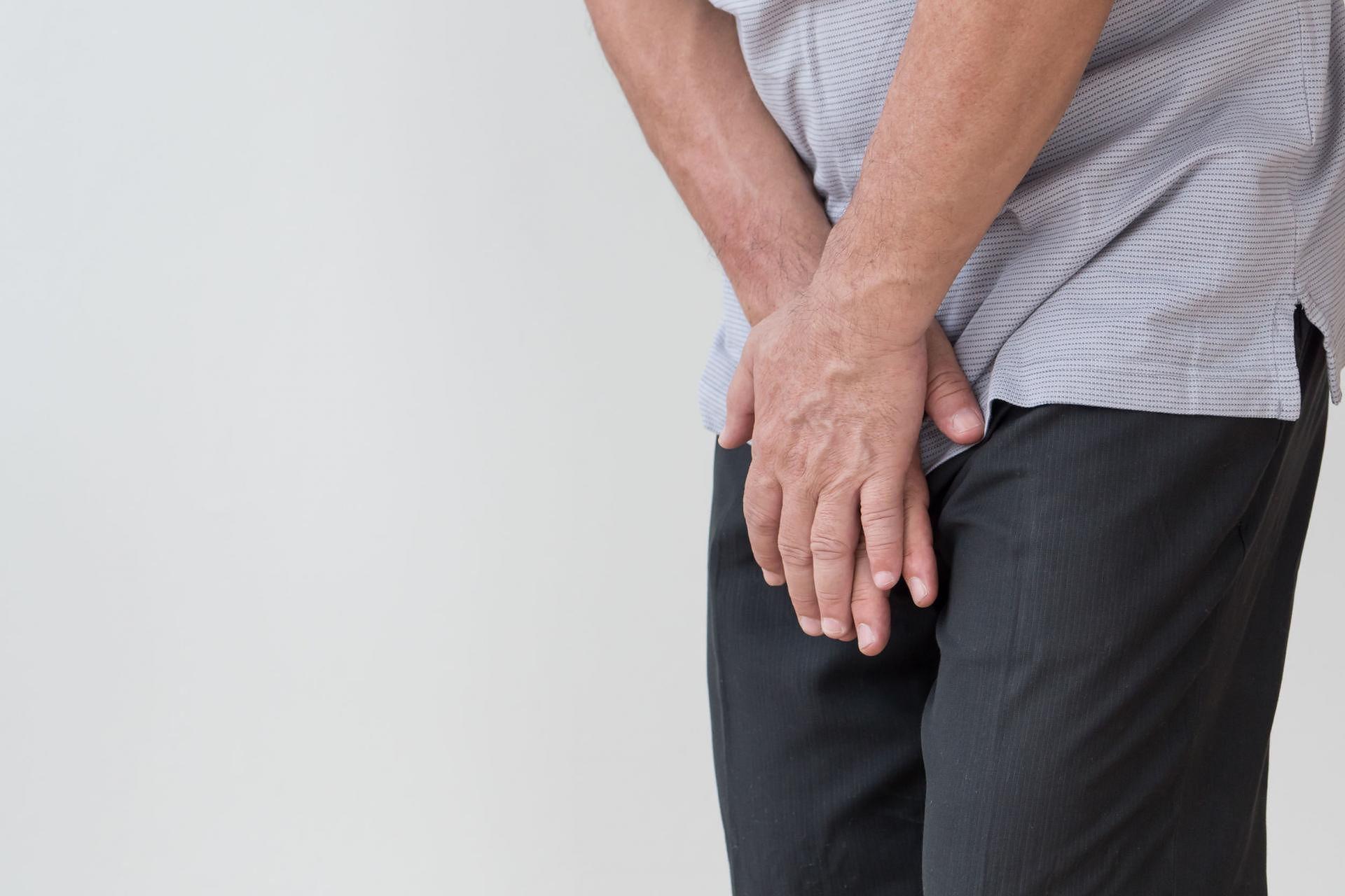 intymna część penisa