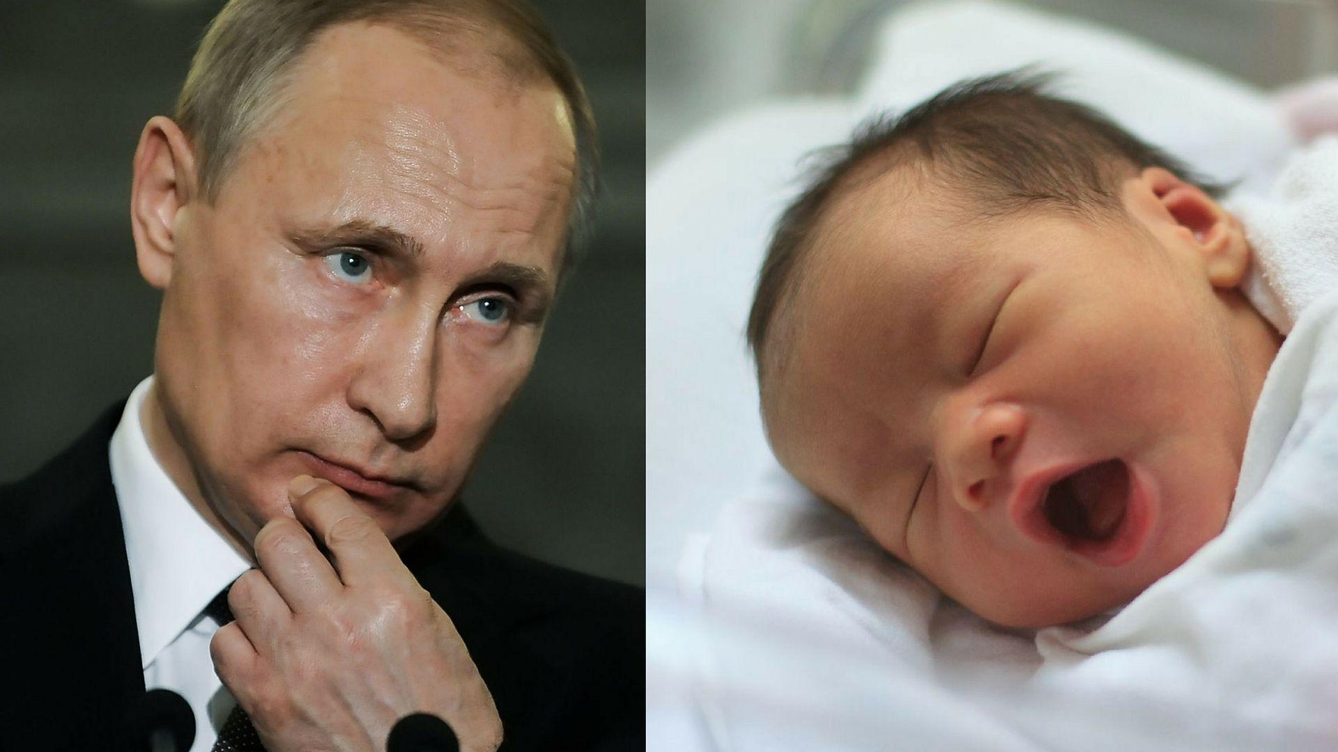 5efea966c15786 Syryjski żołnierz nazwał swojego syna Władimir Putin | WP parenting