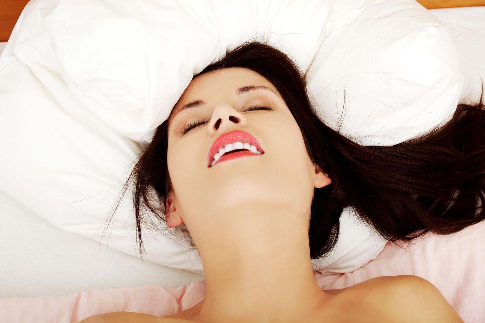 Orgazm podczas seksu wideo